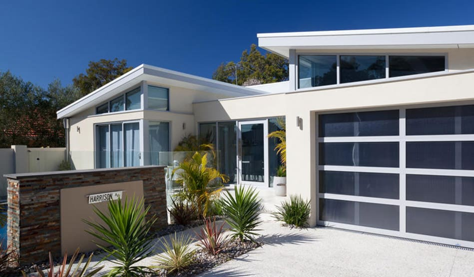 construction companies in perth western australia specialising in skillion roof and feature aluminium joinery