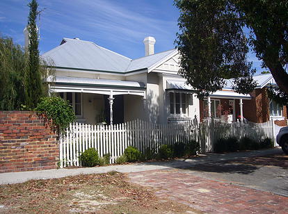 original character of the home before renovations and extensions subiaco